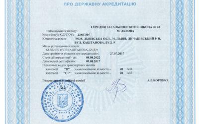 Сертифікат про держ. акредитатцію